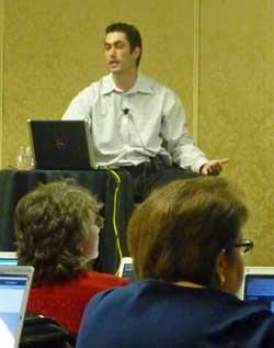 Robert Stevens at Las Vegas Help-U-Sell Tech Summit